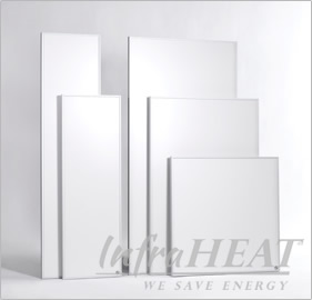 Infrared heating panels InfraHEAT